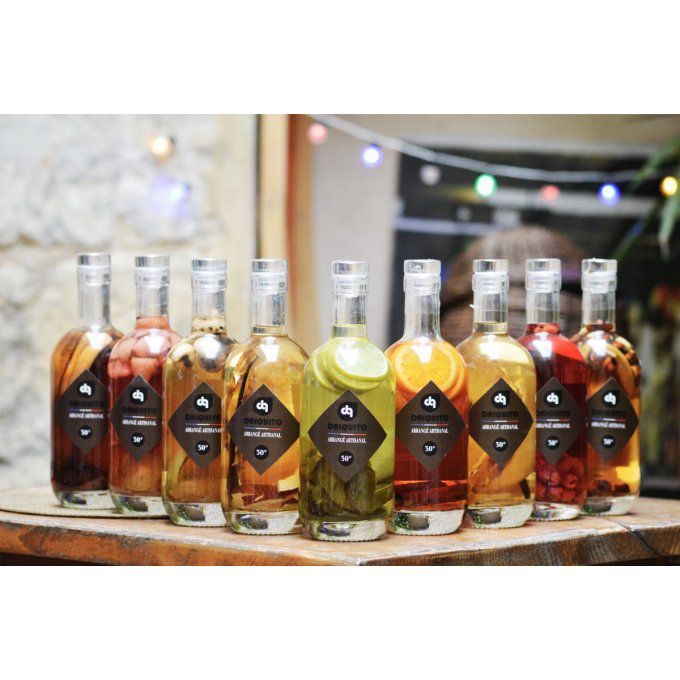 Rhums arrangés Daïquito 35cl
